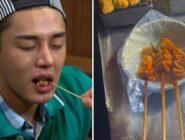 Yoo Ah In divide las opiniones de sus fans con una simple foto de pasteles de pescado picantes