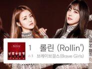 Brave Girls logra su primer número 1 a 10 años de su debut y con una canción de hace 4 años