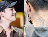 Así fue como G-Dragon terminó tatuándose parte del cuerpo de su manager en la parte posterior de su cuello