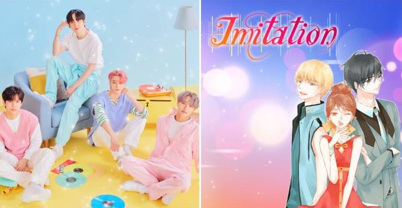 El nuevo K-Drama «Imitation» lanza posters de los grupos de ídolos ficticios del programa