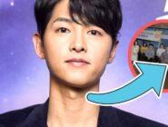 Song Joong Ki cedió su lugar central a un actor desconocido para que esté más tiempo en pantalla