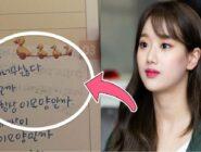 Internautas coreanos encuentran un mensaje oculto en las entradas del diario de Naeun de APRIL compartido por su hermana mayor