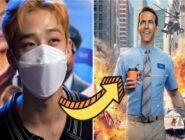 Bang Chan de Stray Kids fue invitado a la revisión de la proyección avanzada de «Free Guy» de Ryan Reynolds