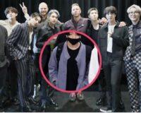BTS le obsequia a Coldplay el famoso hanbok modernizado de Jungkook