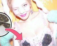 HyunA demuestra que es joven y rica al cortar un bolso de diseñador de $ 1500 para hacer una blusa
