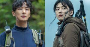 El próximo drama de Jun Ji Hyun y Ju Ji Hoon, 'Jirisan', revela su emocionante póster principal